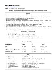 Scrum Master Resume Manoj Dwivedi Resume