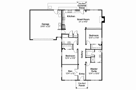 craftsman floor plan story house floor plans bedroom craftsman home design 4 ranch