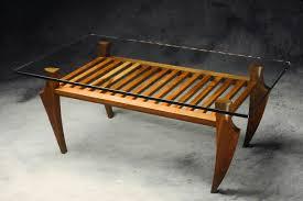 drift coffee table hardwood walnut u0026 glass coffee table seth