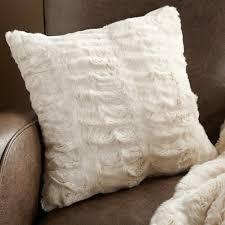 Faux Fur Throw Pillow Coral Faux Fur Pillows Simple Faux Fur Pillows For Glamorous