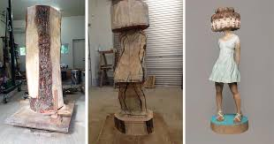 wood sculptures japanese sculptor shows how he transforms wood into surreal