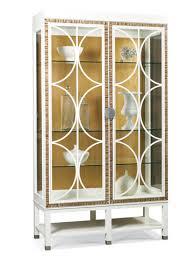 bunching lighted china cabinet 650 43 hickory white china