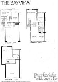 split floor plan house plans mid century modern and 1970s era ottawa favourite plans south