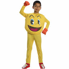 Sonic Halloween Costume Pac Man Child Halloween Costume Walmart