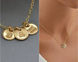 Monogram Disc Necklace 11203 Best Jewelry Malizbijoux Images On Pinterest Personalized