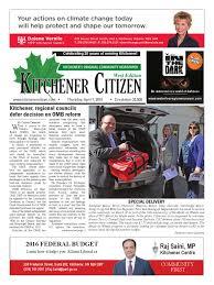 kitchener citizen west edition april 2016 by kitchener citizen
