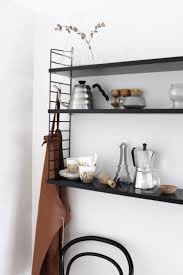 scandinavian kitchen inspiration black string via http www