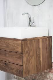 american standard bathroom cabinets solid walnut floating vanity includes the white porcelain american