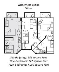Disney Boardwalk Villas Floor Plan Boulder Ridge Villas At Disney U0027s Wilderness Lodge