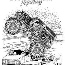 100 ideas monster truck printable coloring pages