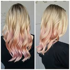 coloring over ombre hair hair color commitment phobes will obsess over the rose gold ombré