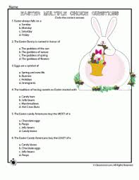 reading comprehension 4th grade four new easter worksheets to print woo jr activities
