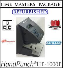 ingersoll rand handpunch 1000 e biometric hand scanner w amg