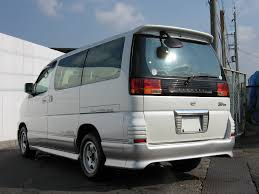 nissan 2000 2000 nissan elgrand highway star combleather seat twin moon