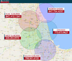 Chicago Suburb Map by Northbrook Electrician U0026 Electrical Contractor All Suburban Electric