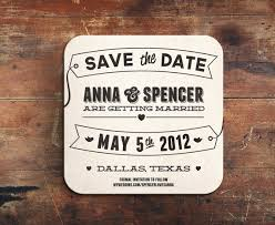 save the date coasters letterpress save the date coaster by simplypressedps on etsy