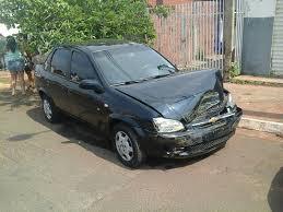 Preferidos Carro capota por falta de sinalização no bairro Guanandi - Portal  @EB12