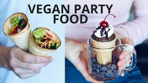vegan party food recipes youtube