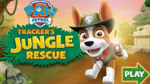 paw patrol nick jr game cartoon kids paw patrol tracker