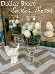 Easter Home Decor by Elegant Easter Decor Ideas From The Dollar Store The Creek Line