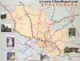 Yellow River China Map by Lanzhou Landmarks Monuments U0026 Hotspots Home Menu