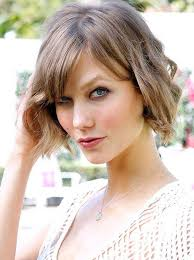 karlie kloss hair color summer hair idea chic soft wavy bob cut from karlie kloss
