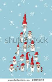 funny christmas new year greeting card stock vector 230298493