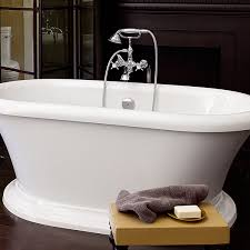 Floor Mount Tub Faucets Tub Faucet Traditional Floor Mount Tub Filler With Landfair Cross