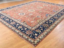 Rug 12 X 14 12 U0027x14 U00279 U0027 U0027 Hand Knotted Antiqued Heriz Oversize All Over Design