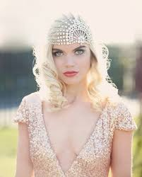 bridal headpieces 45 fabulous deco bridal headpieces happywedd