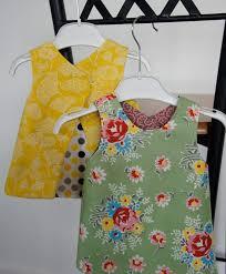 easy reversible baby dresses sew many ideas pinterest babies