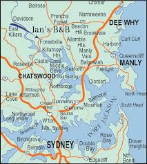 sydney australia map map of sydney australia australia maps map pictures