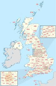 Map Of England And Scotland by Postcodes In The United Kingdom Wikipedia