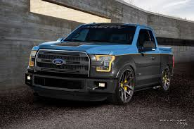 ford bringing seven customized f 150 pickups to sema 2015