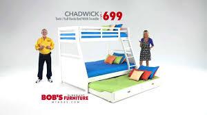 Bobs Furniture Bed Chadwick Twin Or Full Bunk Bed Bob U0027s Discount Furniture Youtube