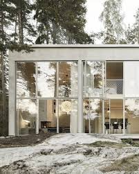 relaxing interior hidden in the swedish woods