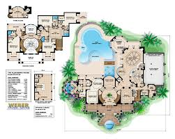Houses Floor Plans by House Plans With Pools Modern Home With Swimming Pool See Photos