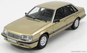 1980 opel bos models bos018 scale 1 18 opel senator a 3 0 cd 1980 gold
