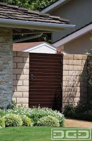 dynamic garage door projects before a sad california ranch house