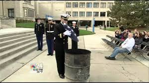 How To Dispose Of An American Flag When Torn University Of Toledo Student Veterans Of America Flag Retirement