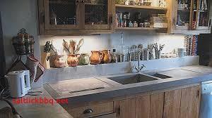construire cuisine meuble tv en placo design pour idees de deco de cuisine best of