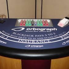Black Jack Table by Trade Show Blackjack Table Agr Las Vegas