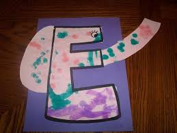 letter e crafts our crafts n things letter e