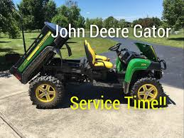 john deere gator service 2016 625i youtube