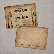 Dinner Invitation Card Vintage Rehearsal Dinner Invitations Cimvitation