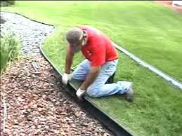 Black Diamond Landscaping by Valley View Lawn Edging Installation Guide Youtube