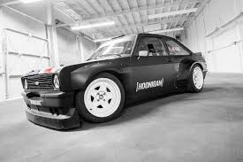 hoonigan cars wallpaper old rules ken block u0027s new ford escort mk2 gymkhana car by