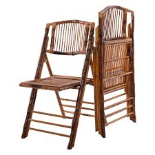 Patio Folding Chair by Set Of 2 Patio Garden Bamboo Folding Chairs Outdoor Chairs