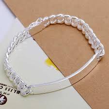 silver tag bracelet images 925 sterling silver jewelry 10mm wide long tag bracelet for men 39 s jpg