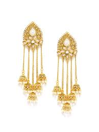 earrings in gold gold plated earrings buy gold plated earrings online in india